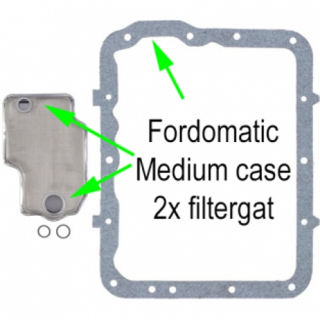 Fordomatic Filterkit Medium case