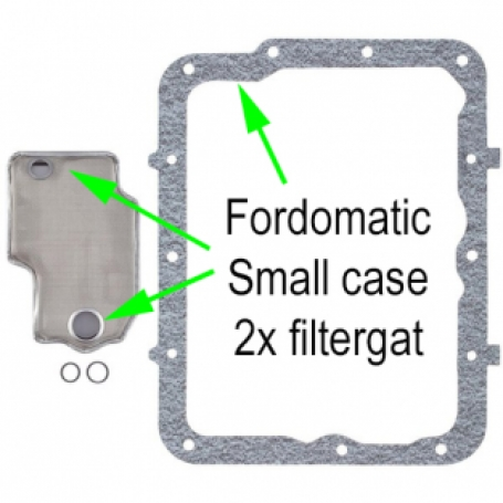 Fordomatic Filterkit Small case